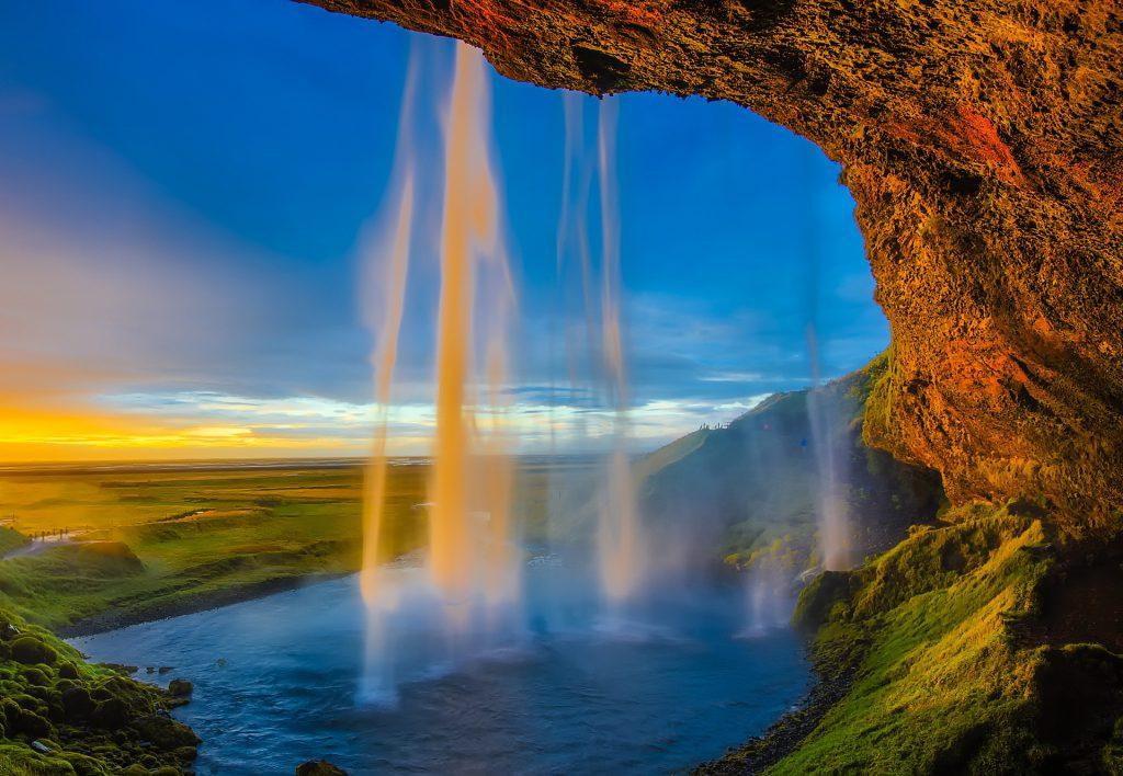 Skógafoss Wasserfall, Island