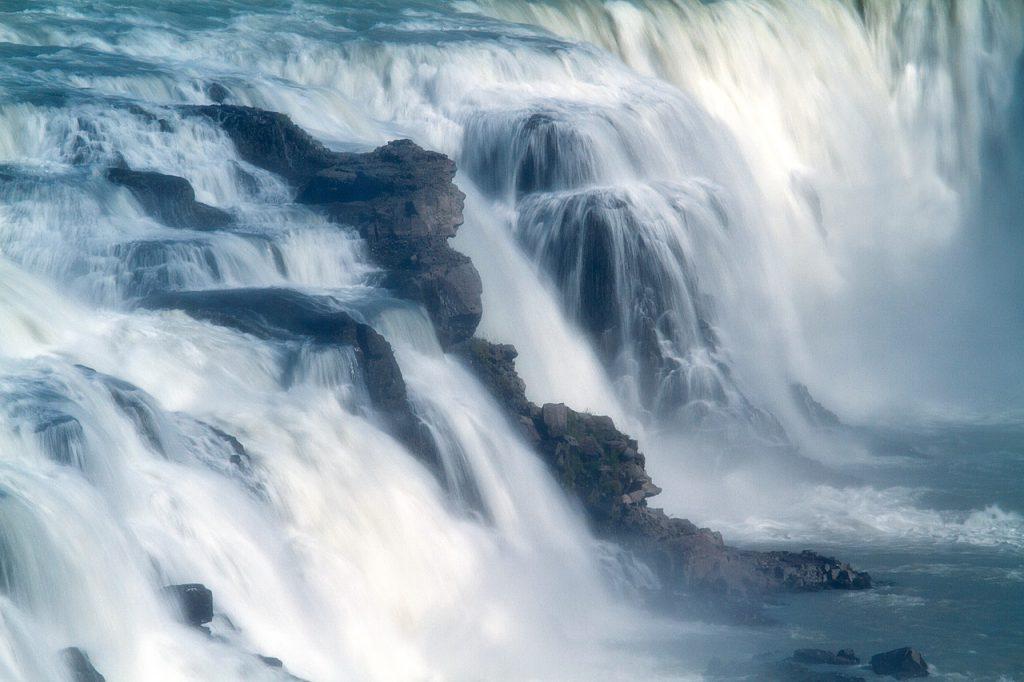 Dettifoss Wasserfall, Island