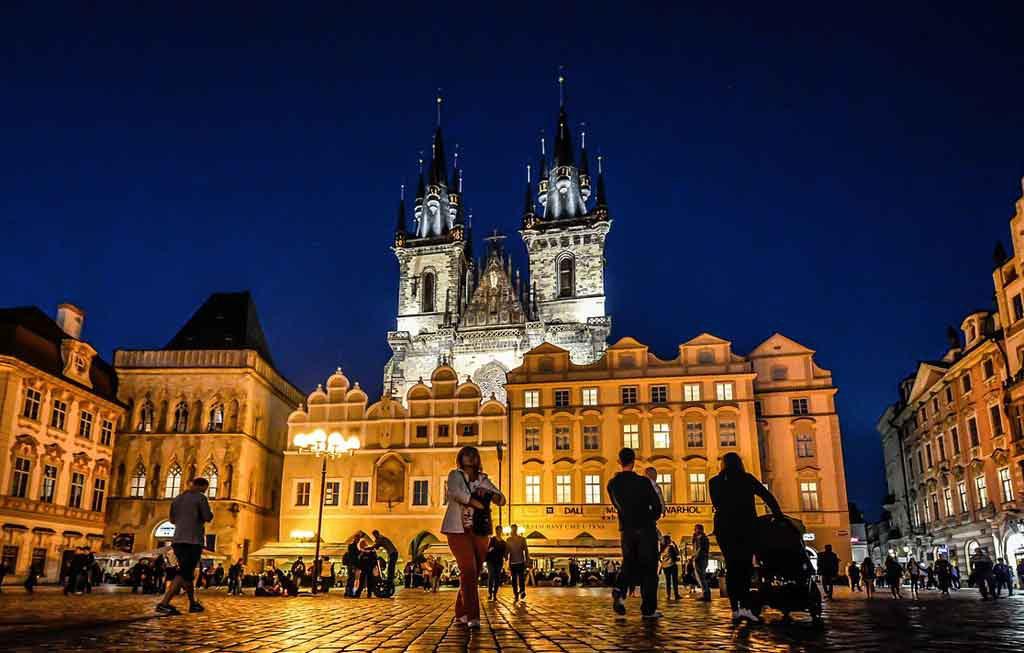 Die Kirche der Madonna von Tyn, Prag