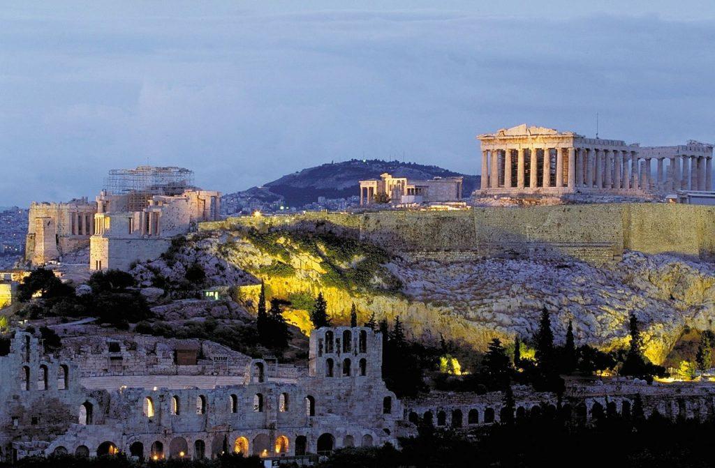 Die Akropolis in Athen ist die wohl bekannteste Sehenswürdigkeit des antiken Griechenlands